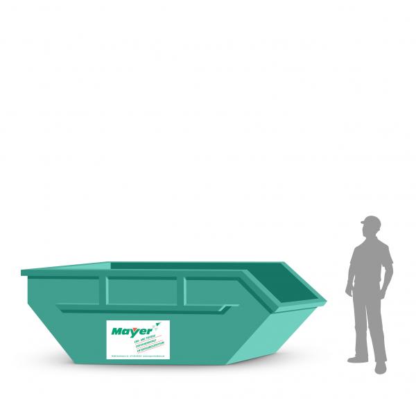 5 cbm Absetzcontainer für Gartenabfall