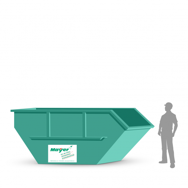 10 cbm Absetzcontainer für Altholz